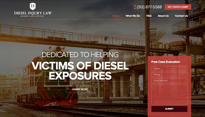 Diesel Injury Law